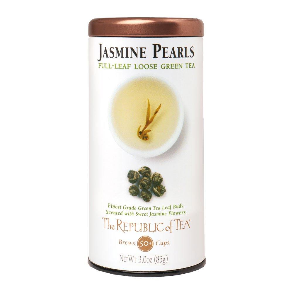 Republic Of Tea, Tea Jasmine Pearls, 3 Ounce