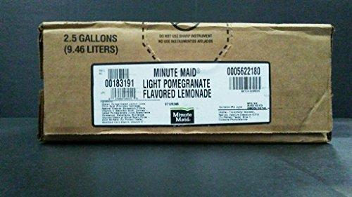 Minute Maid Light Lemonade Pomegranate Syrup 2.5 Gallon Bag in Box BIB Sodastream (Fountain Soda Syrup compare prices)