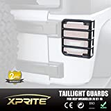 Xprite 2007-2016 Jeep Wrangler JK Unlimited Matte Black Light Guard Covers For Rear Taillights