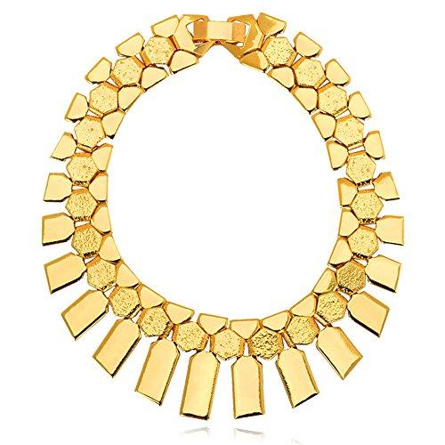 African Jewelry Platinum Geometric Bracelet