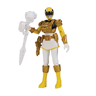 Power Rangers Samurai Action Figure Ultra Yellow Ranger, 4 Inch: Toys & Games