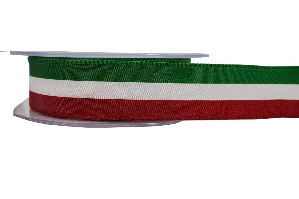 NASTRI TRICOLORE ITALIA TESSUTO 25 METRI (25MM) SOFFICI SERGIO S.R.L.