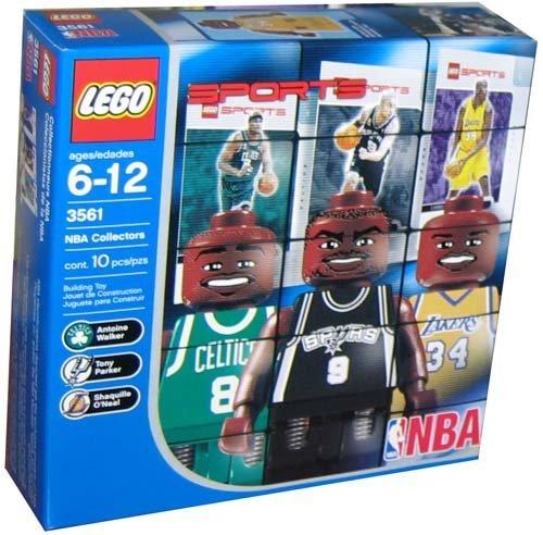 Lego Builder's Kit – NBA Player Figures!! Shaq, Parker, and Walker, Baby & Kids Zone