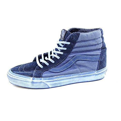 adulte Vans Washed sneaker Blues high cuir Reissue Over Hi mixte Dress Sk8 CA 0FxXzrwq0