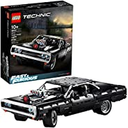 LEGO Technic Fast & Furious Dom's Dodge Charger 42111 Race Car Building Set, New 2020 (1,077 Pie