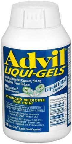 Advil Liquid Gels 480 Liquid Capsules (Advil,GT-6i