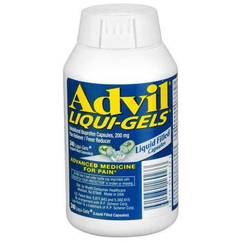 Advil Liquid Gels 480 Liquid Capsules (Advil,GT-6ij