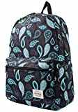 TRENDYMAX Cute Backpack for School | 16''x12''x6'' | Holds 15.4-inch Laptop | Paisley