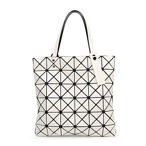 Sac Diamond à White Géométrique Sac Variété à à Bandoulière Pliable Bandoulière Sac Main qawrxHq