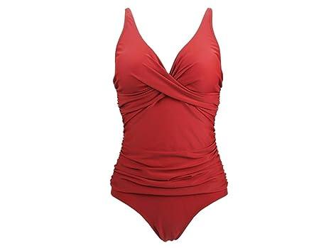 Costume Da Bagno Intero Rosso : Adream donna unica costume da bagno intero sexy da donna costume