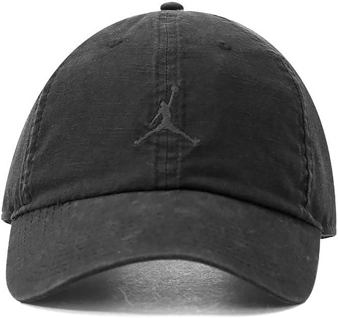 Nike Jordan H86 Jumpman Washed Gorra, Hombre, Negro, Talla Única ...