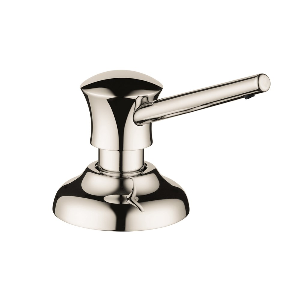 Hansgrohe 04540830 Traditional Soap Dispenser, Polished Nickel