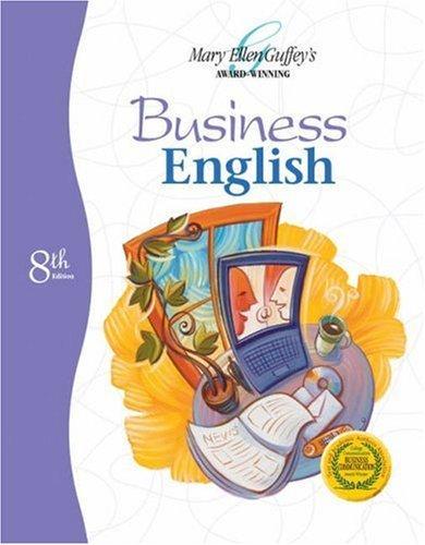 Business English by Mary Ellen Guffey (2004-02-10)