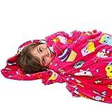 GirlZone: Fun Fleece Throw Blanket for