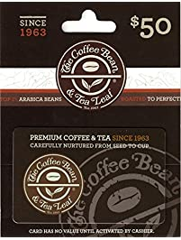 The Coffee Bean & Tea Lea Gift Card