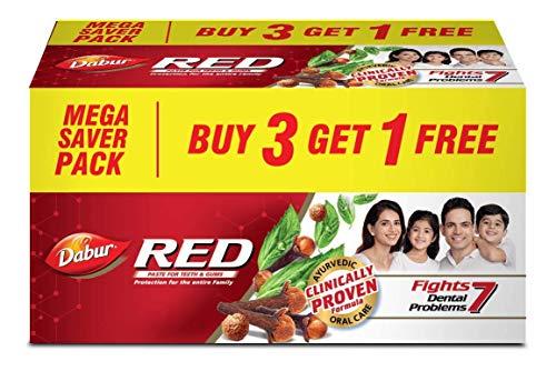 Dabur Red Paste – 600 g (Buy 3 Get 1 Free)