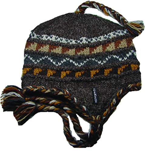 Everest Designs Unisex Sherpa Earflap, Ale, One Size