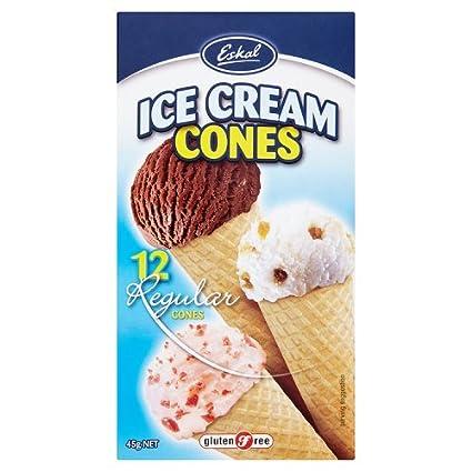 Eskal - Conos de helado (12 unidades, 1.59 oz): Amazon.com ...
