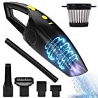 Rechargeable Cordless Handheld Vacuum, Maiphee Powerful Car Hand Vacuum Cleaner, 2200mAh Lithium Battery