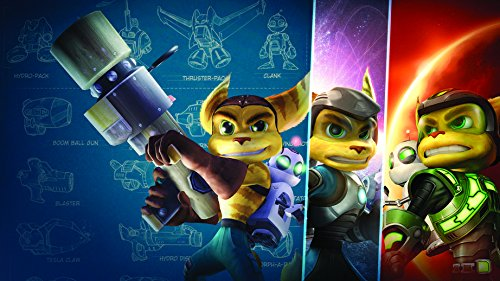 Price comparison product image 25x14 inch Ratchet and Clank Silk Poster AGSE-691