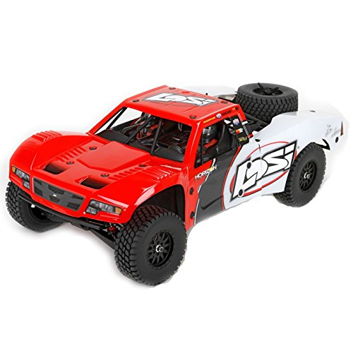 Team Losi Baja Rey: 1/10-Scale AVC RTR 4WD Trophy Truck(Red) from Team Losi