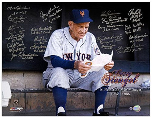 (1962 New York Mets Autographed 16