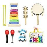best seller today Kids Musical Instruments - NASUM 7pcs...