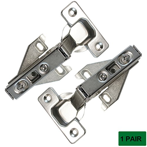Probrico CHHS09 Soft Opening Face Frame Mounting Concealed Hinges,1 Pair