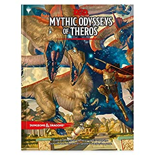 D&D RPG: Mythic Odysseys of Theros Hard Alternate Cover