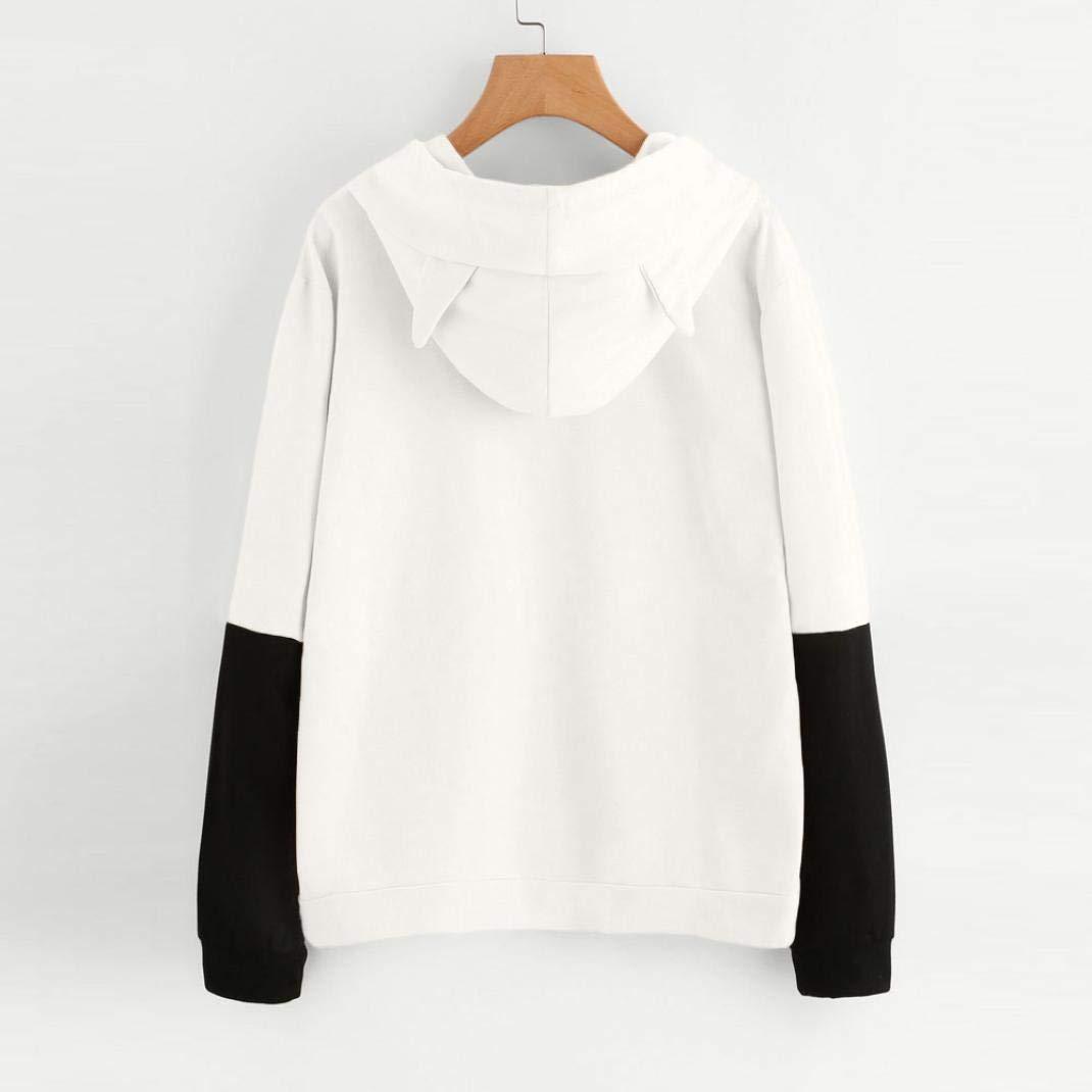 BYWX Women Fall Crew Neck Ruffle Long Sleeve Pullover Sweatershirt
