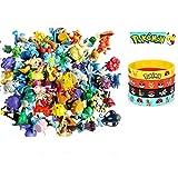 24 Pokemon Figures - Mini Cake Topper Toys - Pikachu Guaranteed + 12pc ...