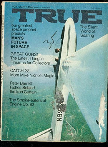 TRUE PULP MAGAZINE-JULY 1970-ALCOHOL-MAN IN SPACE-GUNS FR -