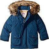Appaman Kids  Baby Boy's Denali Down Coat (Toddler/Little Kids/Big Kids) Denim Blue 10