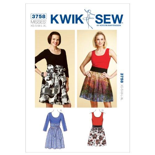 kwik sew wrap dress - 2
