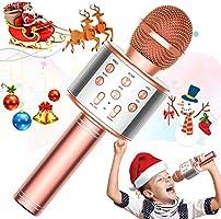 TRONICMASTER Wireless Karaoke Microphone Bluetooth, 3 in 1 Wireless Portable Handheld Mic Karaoke Machine for Christmas...
