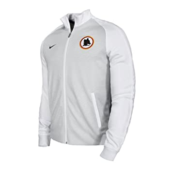82e4a05f28 2016-2017 AS Roma Nike Authentic N98 Jacket (White)