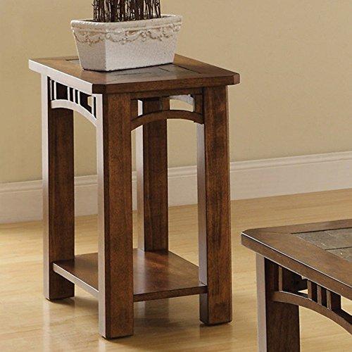 Rustic End Table (Riverside Desk Oak)