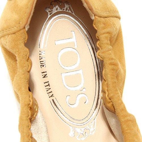 Giallo Ballerina Miele Shoes Tod's Scarpa Women 49167 Donna dq0adw