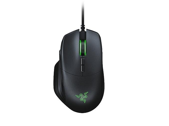 Razer Basilisk - Ergonomische FPS Gaming Maus (Abnehmbare DPI-Schaltung, Anpassbarer Mausrad-Widerstand, Optischer 5G-Sensor