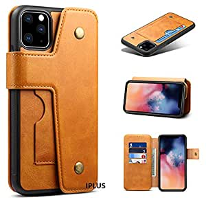 Amazon.com: IPLUS - Funda tipo cartera para iPhone 11 con ...