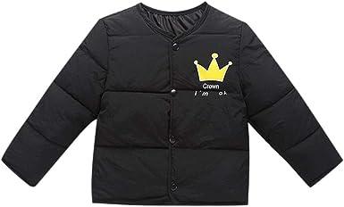 1-5Y GorNorriss Baby Girl Boy Stripe Rainbow Winter Warm Jacket Hoodie Windproof Coat