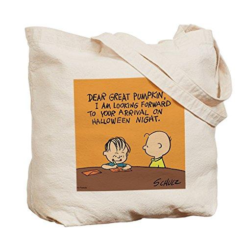 CafePress–Carta a El Gran truco o trato bolsa–gamuza de bolsa de lona bolsa, bolsa de la compra