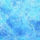 CowboyStudio Hand Painted 6 X 9 ft Sky Blue Muslin Photo Backdrop Background