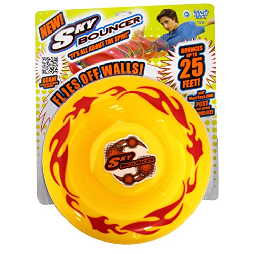 Hyper Disc (Maui Toys Pop Skybouncer Fire Yellow Flying Disc)