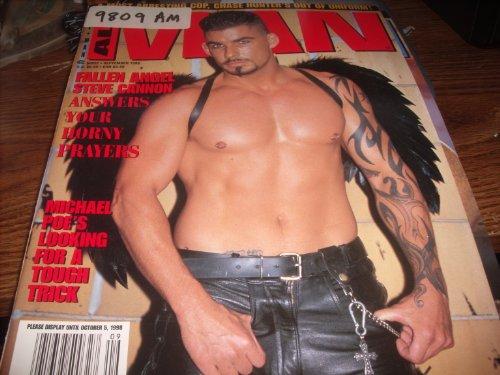 All Man Adult Gay Magazine September 1998 Steve Cannon