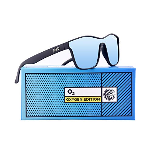 THE Unisex Oxygen Edition FACE Gafas Sol de INDIAN 142 Black wgT8rtExwq