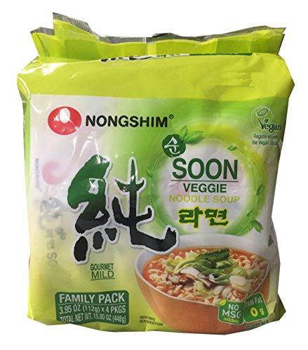 Price comparison product image Nongshim Korean Ramen Familiy Pack (Soon Veggie)
