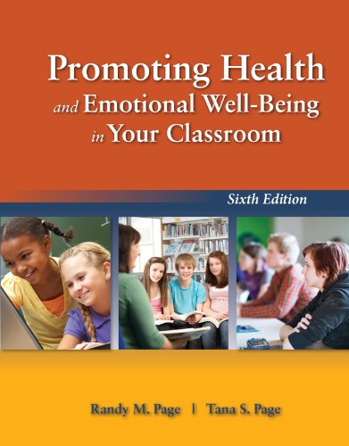 Promoting Health and Emotional Well-Being in Your Classroom Pdf