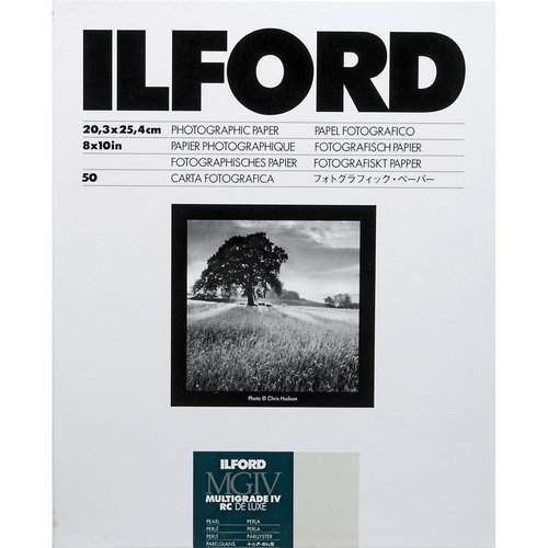 MGIV Multigrade IV RC Pearl 8x10 (50 Sheets) (Ilford Pearl Photo Paper)