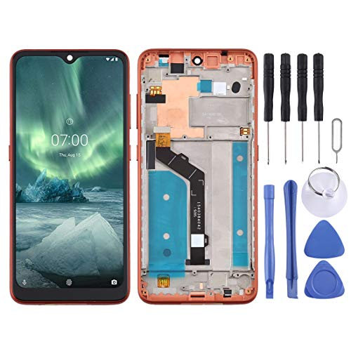 Mobile Phone Replacement Parts LCD Screen and Digitizer Full Assembly with Frame for Nokia 6.2 TA-1198 TA-1200 TA-1187…